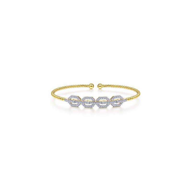 Kelley Collection  Bujukan Bead Cuff Bracelet