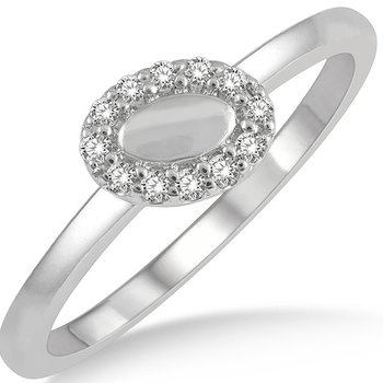 Oval Shape Stackable Band