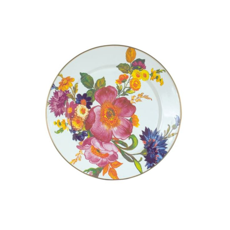 MacKenzie-Childs Flower Market Charger/Plate