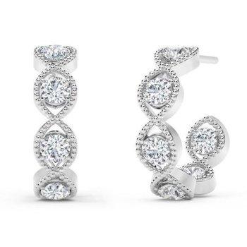 Forevermark Hoop Earrings