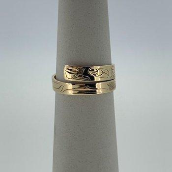 Beaver Wrap Ring