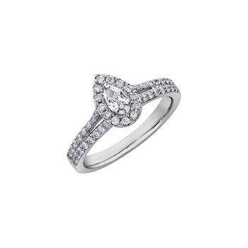 Diamond Days Pear Diamond Ring