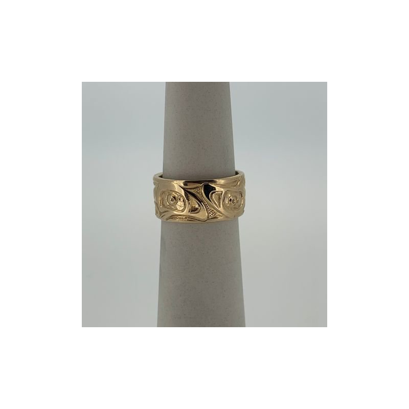 First Nations Jewellery Salmon Ring