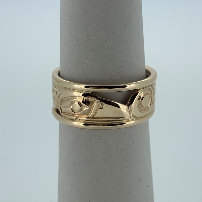 First Nations Jewellery Raven Rail Ring