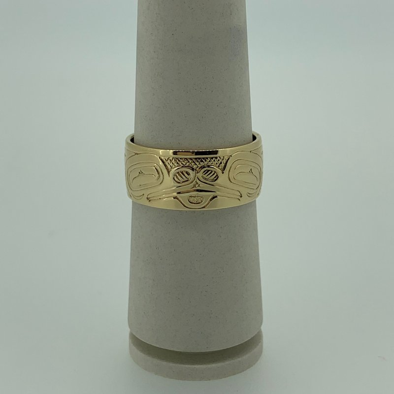 First Nations Jewellery Double Frog Ring