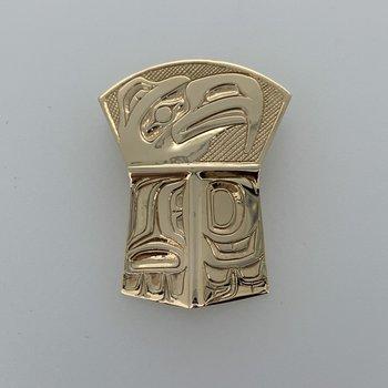 Large Eagle Shield Pendant