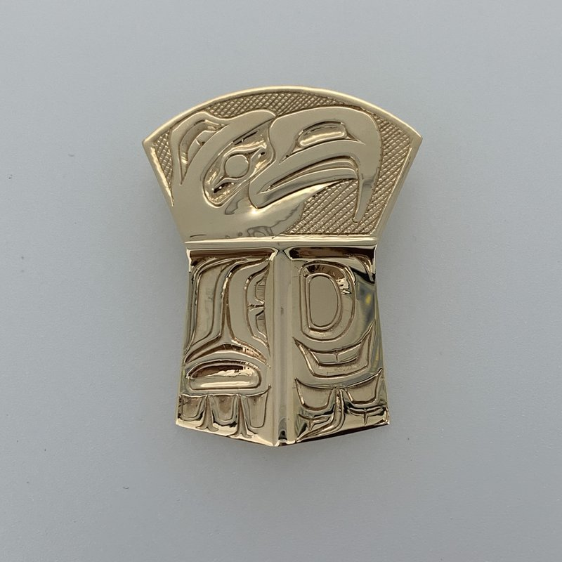 First Nations Jewellery Large Eagle Shield Pendant