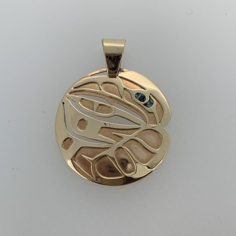 First Nations Jewellery Raven Pendant by Ryan Williams