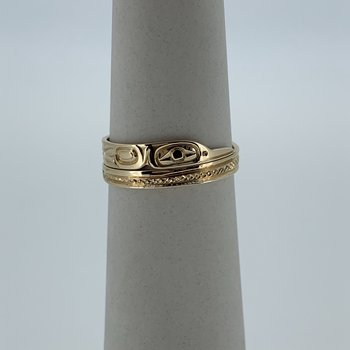 Hummingbird Wrap Ring