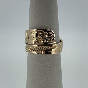 Killerwhale wrap ring
