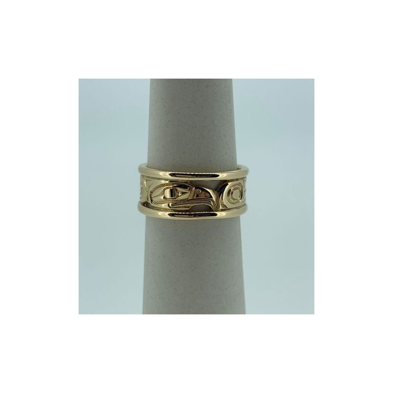 First Nations Jewellery Eagle rail Ring