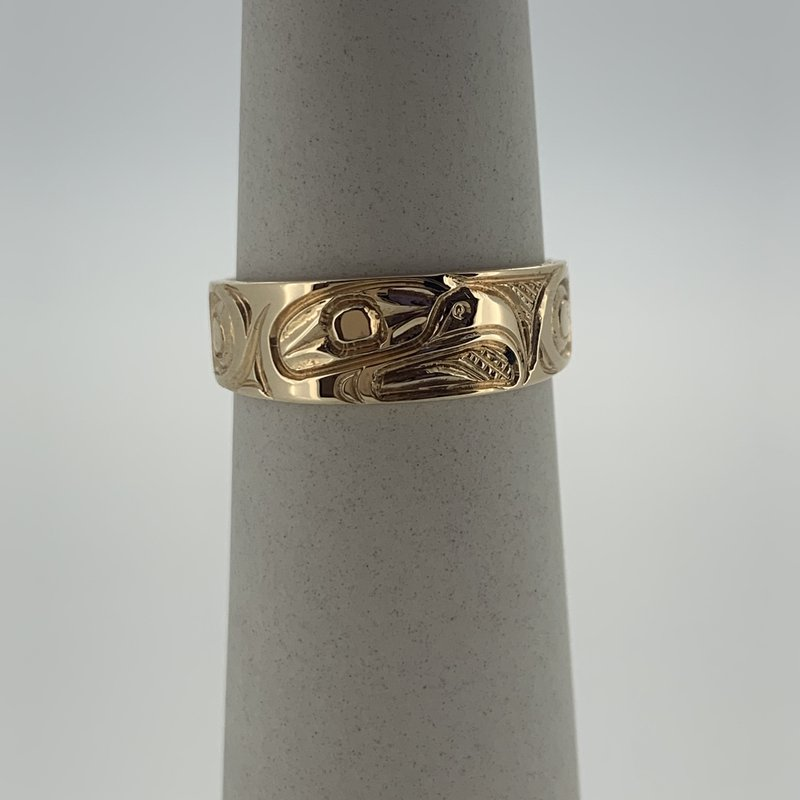 First Nations Jewellery Eagle tapered band