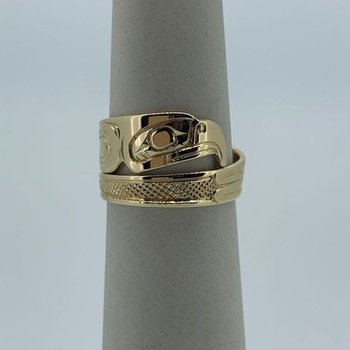 Eagle Wrap Ring