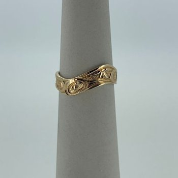 Hummingbird Wave Ring