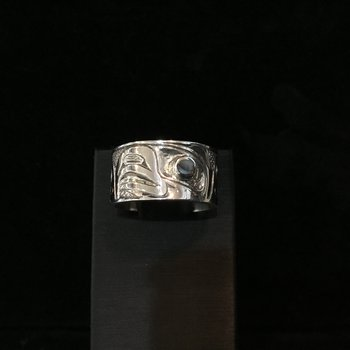 Eagle Ring by Carmen Goertzen