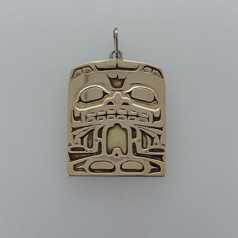 First Nations Jewellery Sea Monster Pendant by Ron Wilson