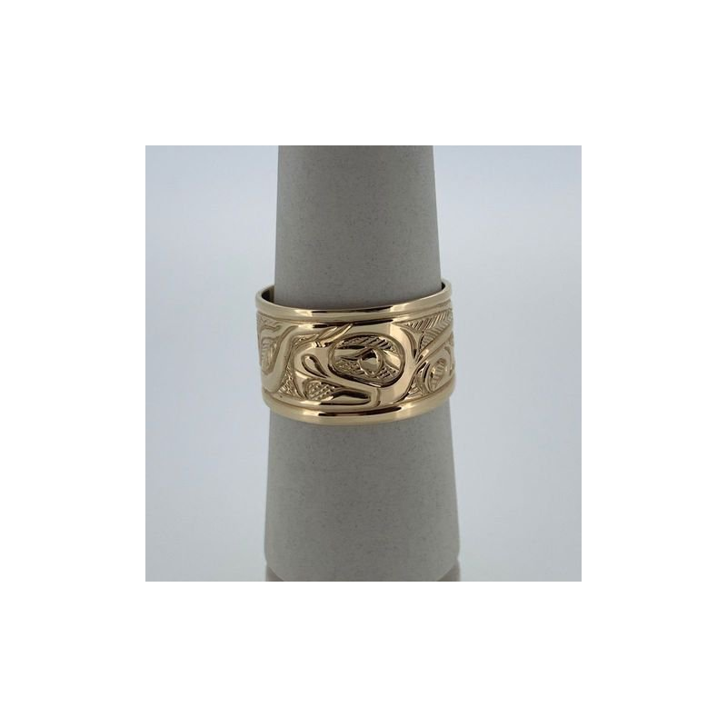 First Nations Jewellery Tapered Eagle Band