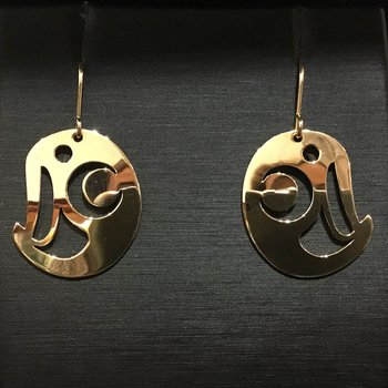 Owl Earrings by Val Malesku