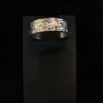 Wolf Ring by Ron Jackson