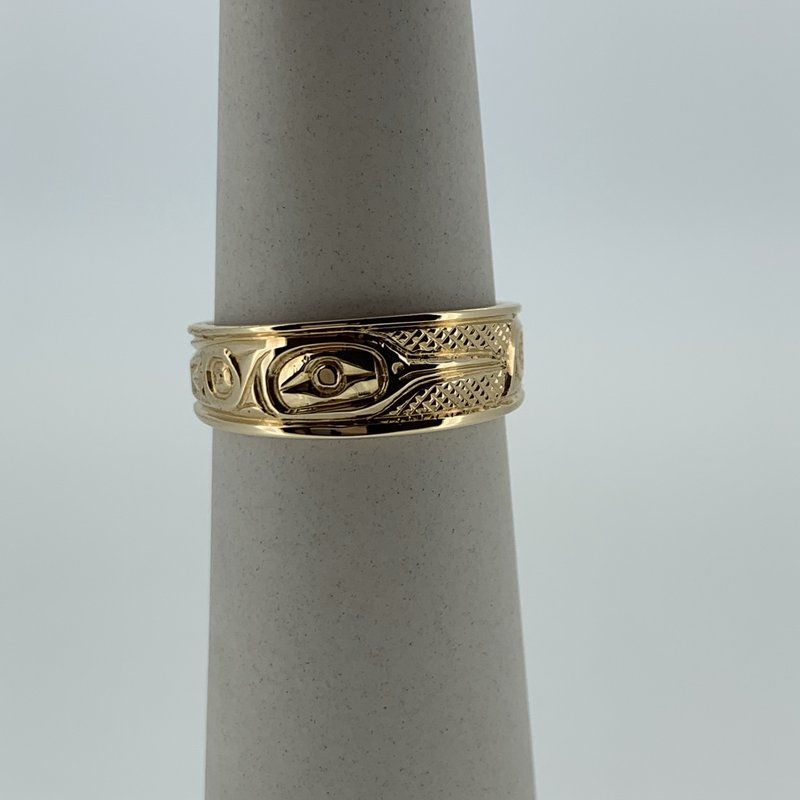 First Nations Jewellery Hummingbird tapered band