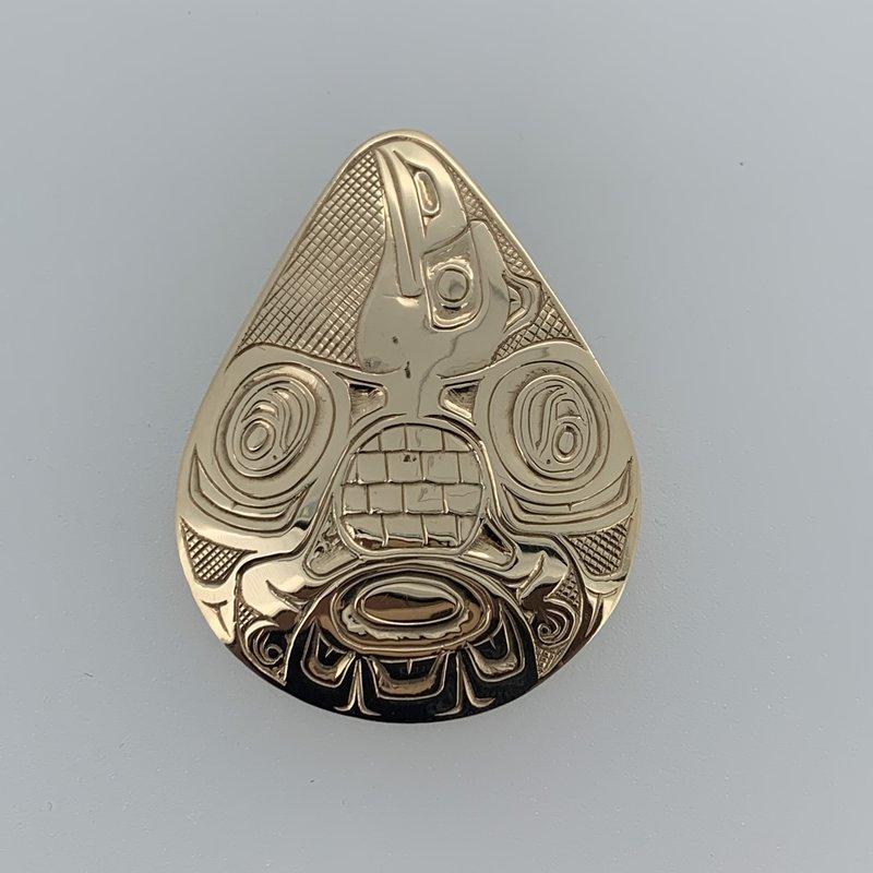 First Nations Jewellery Raven Tear drop Pendant