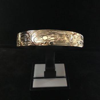 Wolf Bracelet By John Sterritt