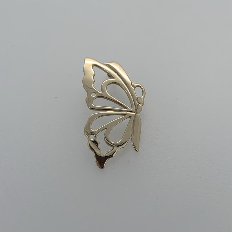 First Nations Jewellery Butterfly Pendant by Val Malesku