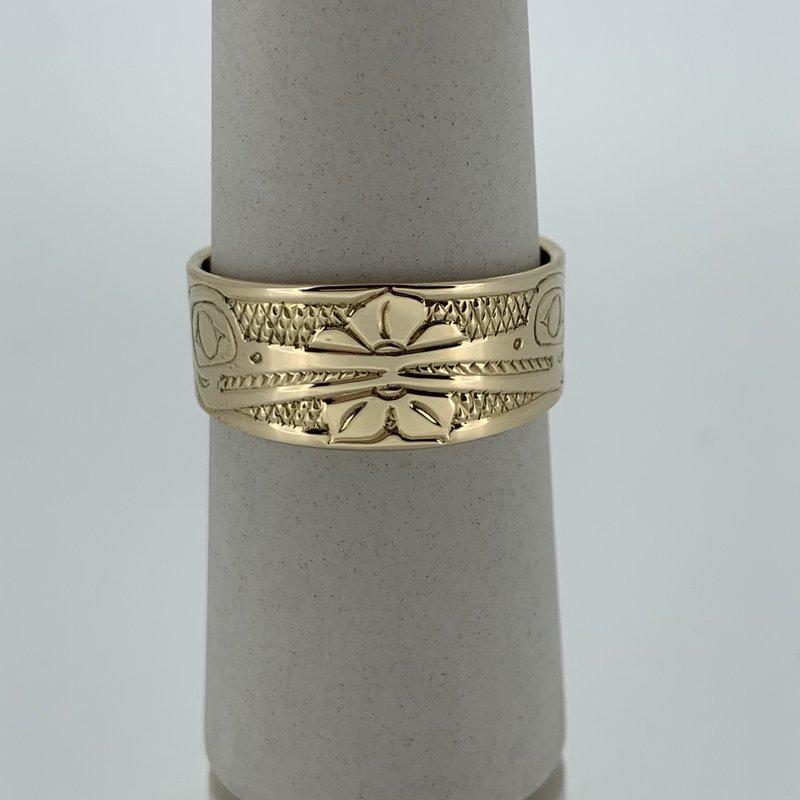First Nations Jewellery Hummingbird Ring by John Sterritt