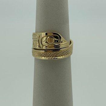 Frog Wrap Ring