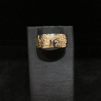 Eagle/Raven Ring by John Sterritt