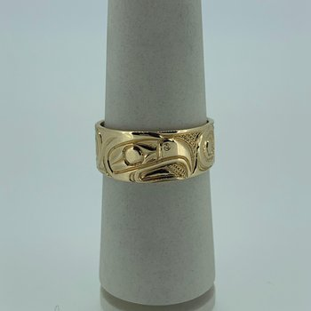 Tapered Eagle Ring