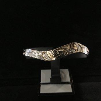 Beaver Bracelet by Ron Jackson