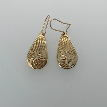 Eagle Teardrop Earrings
