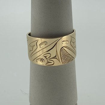 Raven/Eagle Ring by James Sawyer