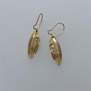 Hummingbird Feather Earrings