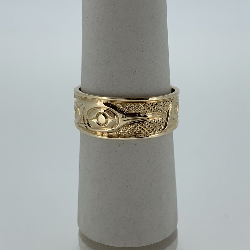 First Nations Jewellery Tapered hummingbird ring