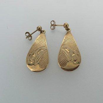 Raven Earrings by Carmen Goertzen