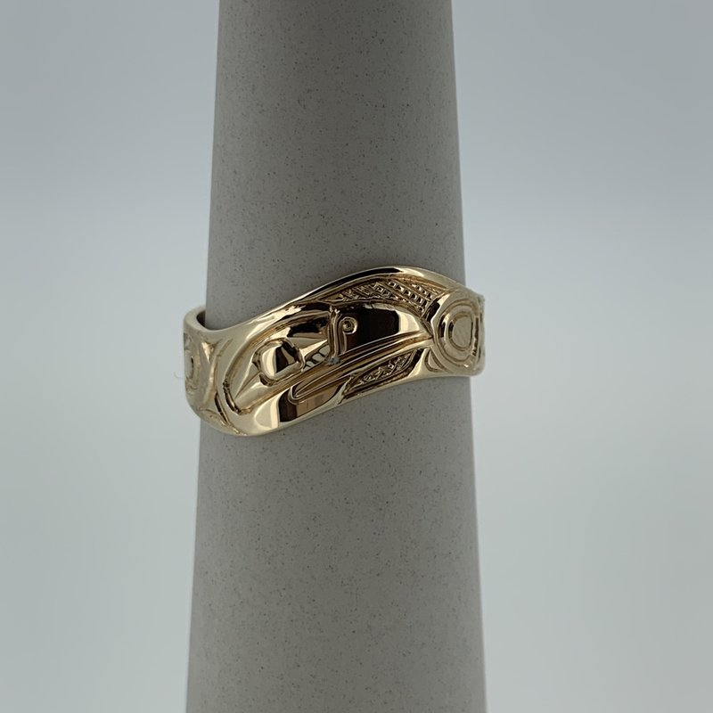 First Nations Jewellery Raven Wave Ring