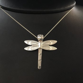 Dragonfly pendant by Ron Jackson