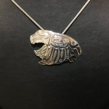Eagle Pendant by John Sterritt