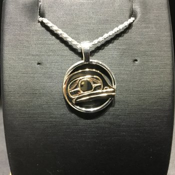 Frog Pendant by Ron Jackson
