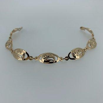 Eagle Oval Link bracelet