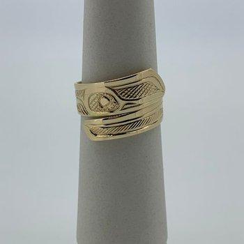Hummingbird Wrap Ring