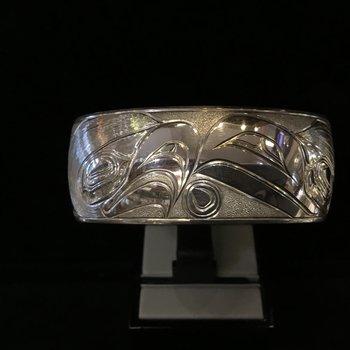 Eagle/Raven Bracelet by Greg Williams