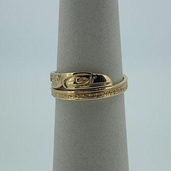 Raven Wrap Ring