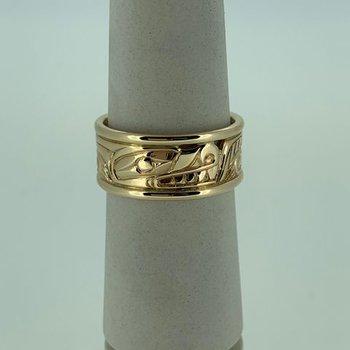 Wolf Rail Ring