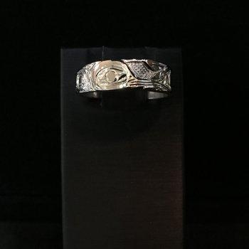Hummingbird Ring by Ron Jackson