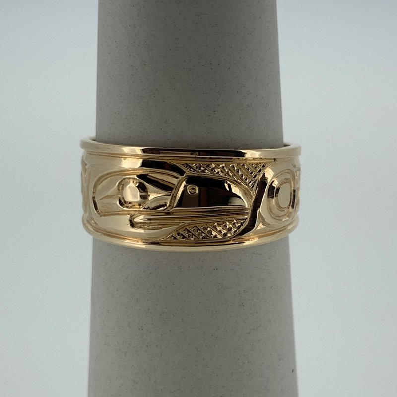 First Nations Jewellery Raven ring