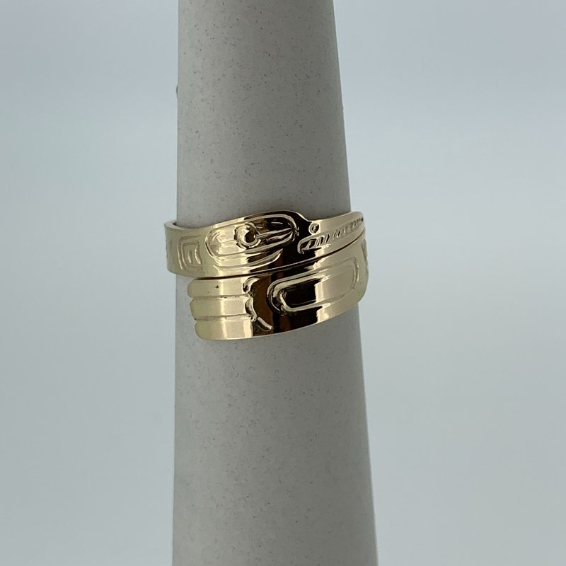 First Nations Jewellery Hummingbird wrap ring