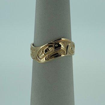 Eagle Wave Ring